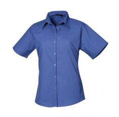 These are woman's short sleeve poplin blouses which are great for work environments and uniforms. With this blouse we 23 different colours so no matter what you feel like we've got you covered. We also offer personalisation on this product which means it would make a great work uniform, what ever sector your in. On offer are sizes from 6 to 26.