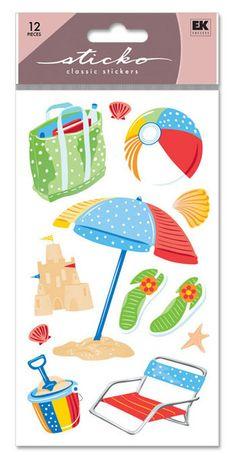 Beach > The Shore Sticko Stickers: Stickers Galore  $1.69