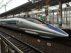 新幹線500系 岡山駅