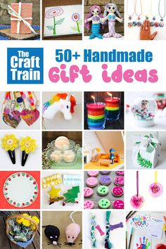 handmade gift ideas for family, friends, kids and teachers homemadegiftforgrandma Easy Arts And Crafts, Crafts For Kids To Make, Craft Activities For Kids, Gifts For Kids, Activity Ideas, Diy Christmas Gifts For Family, Handmade Christmas, Christmas Crafts, Christmas Activities