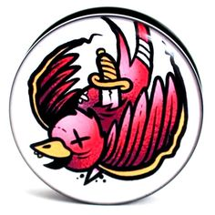 Image of Red Swallow - Plug / Gauge. awesome!!