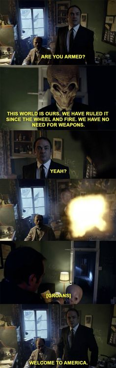 What happens when Crowley shows up on Doctor Who.