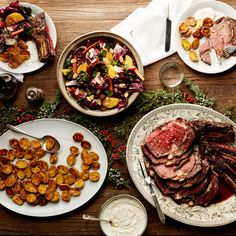 An Old-Fashioned Christmas Dinner, Hold the Fruitcake
