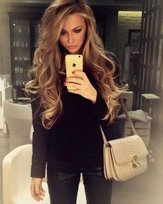 Beautiful Loose Curls with Long Hair #longhair