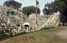 Riverview Park Des Moines, IA  Gone, but not forgotten. I rode this as a kid. It seemed much bigger then. :)