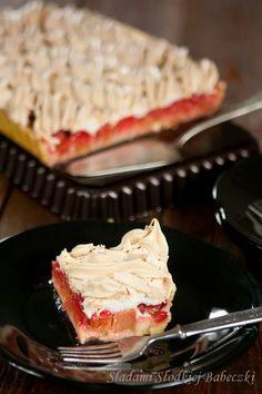 Polish Recipes, Polish Food, Shortcrust Pastry, Mousse Cake, Dessert Recipes, Desserts, Meringue, Tray Bakes, Muffins