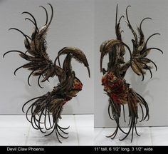 Devil Claw Phoenix by ART-fromthe-HEART.deviantart.com