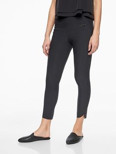 Activewear Bottoms 6 Strong-Willed Athleta Black Luxe Brooklyn Ankle Pant Nwt
