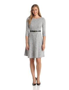 Anne Klein Women's Heather Boucle Swing Suit « Clothing Adds Anytime
