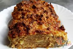 Meatloaf, Lasagna, Banana Bread, Ethnic Recipes, Desserts, Ground Meat, Red Peppers, Tailgate Desserts, Deserts
