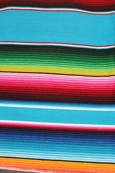 Serape blanket. Indigenous Mexican blanket. Good for background layering.