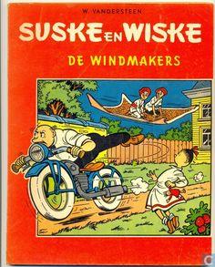 Strips - Suske en Wiske - De windmakers