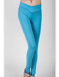 talie pantaloni nou fluorescență femei Clement subțiri botto... – USD $ 7.99