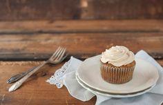 Chai Spiced Carrot Cupcake
