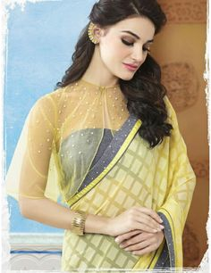 Sahiba Aakansha 5 Brasso Fancy Blouse Designer Printed half Half Saree Full Catalog