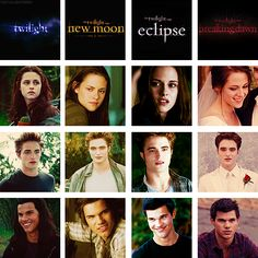 LOVE this! Twilight to Breaking Dawn