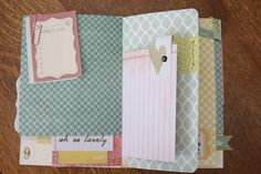 DIY Smash Book // just take a notebook of any kind and embelish as desired with various scrapbooking paraphenalia