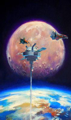 "translucentmind: ""  Space Elevator // John Harris """