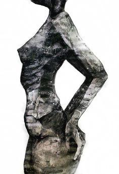 """Anna Sikora """"Tryptyk Kobiety 2 - dojrzałość"""" / kontakt w sprawie dzieła biuro@dnagallery.pl"""