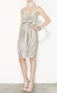 Stella McCartney Silver Dress Silver Dress, Designer Gowns, Formal Wear, Playing Dress Up, Stella Mccartney, Play Dress, Cocktail Dresses, Runway Fashion, Style Ideas