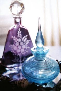 collecting perfume bottles
