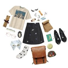 modern witch, created by notkyary on Polyvore