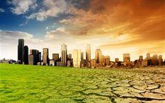 Cette image montre que la hausse des températures a la surface de la terre .