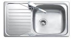 Top View Of Kitchen Sink