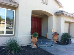 After photo house paint sw 6151 quiver tan trim paint - Sherwin williams foothills interior ...