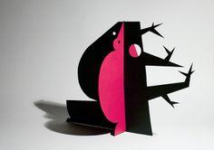 papersculptures_02 by Sara Cunha, via Flickr