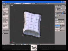 Blender Tutorial - Making a Pillow