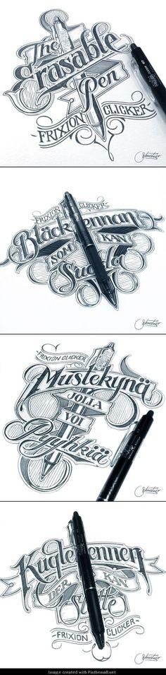 50 créations autour de la typographie et du graphisme - inspiration-typographie: