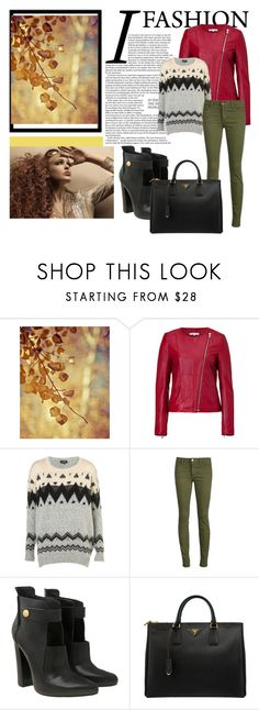 """school fall"" by tunset ❤ liked on Polyvore featuring Paul & Joe Sister, Topshop, Joe's Jeans, Alexander Wang, Prada and The Cambridge Satchel Company"
