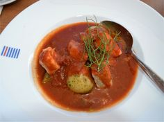 Fisher, Fish Soup, Thai Red Curry, Norway, Salmon, Ethnic Recipes, Food, Eten, Atlantic Salmon