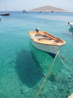 Me and Greece have a destiny. i need memories of Greece! Boat in Chalki, Greece Oh The Places You'll Go, Places To Travel, Places To Visit, Travel Destinations, Dream Vacations, Vacation Spots, Am Meer, Greek Islands, Mykonos