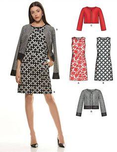 Cours - Couture Québec. Un autre patron que vous retrouverez en magasin...New Look # 6302 Au Plaisir