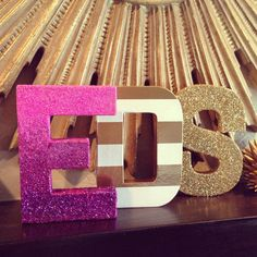 "Gold Chunky Glitter 8"" or 12"" Letter by House of creative Designs available at HOCDesignsMarket on Etsy"