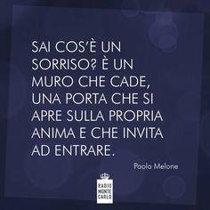 ✔ Un sorriso (Paola Melone)
