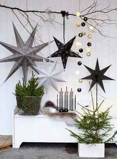 Scandinavische kerst. DIY Scandinavisch, scandesign, danish design, Scandinavisch wonen, scandistyle, scandinavian, nordic interior, scandinavian christmas