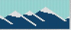 Tricksy Knitter Charts: Mountains by IntertidalGirl