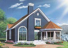 Plan de Maison unifamiliale W2945
