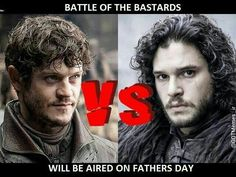 Battle of the Bastards on Father's Day