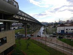 #vista #metrôtamanduatei #sp #brasil