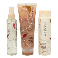 Mary Kay Summer 2015 Red Tea & Fig ~ Scrub, Spritzer, and Lotion