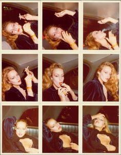 "lelaid: "" Jerry Hall by Antonio Lopez, New York, 1978 "" Jerry Hall, Teenage Parties, Alfred Stieglitz, Moving To Paris, Studio 54, Jolie Photo, Film, Kinky, Editorial Fashion"