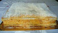 Resultado de imagem para receita de bolo com massa folhada