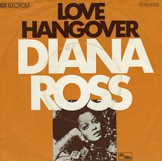 """Diana Ross """"Love Hangover"""" (1976) 45 rpm Record Sleeve"""