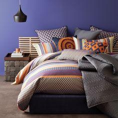 Atwood Pumpkin Quilt Cover Set - hardtofind. (Linen house)