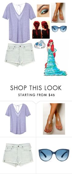 """Ariel"" by omhoops-1 ❤ liked on Polyvore featuring Victoria's Secret and Citizens of Humanity"