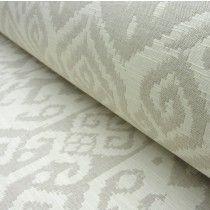 Tiber Cream Reversible Cotton Weave.